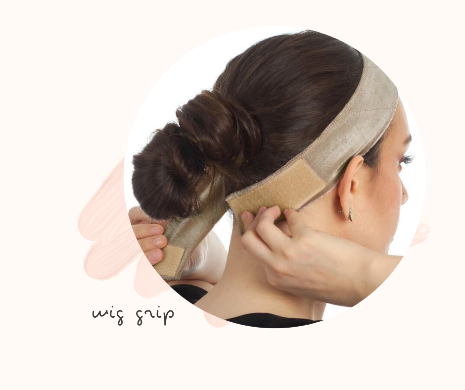 how to secure a wig with wig grip